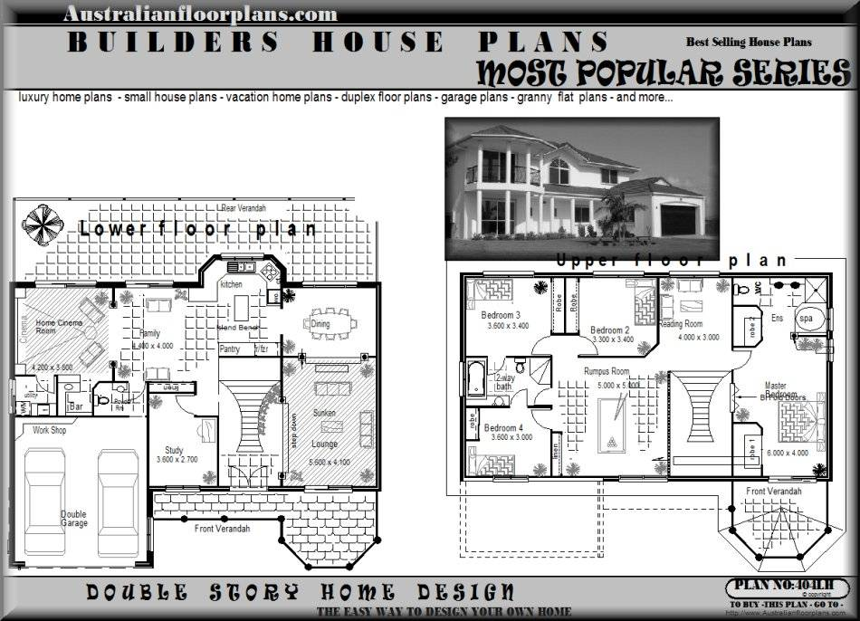 Two Storey Residential House Floor Plan Philippines