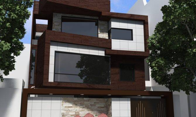 Ultra Modern Homes Designs Exterior Front Views Home Design 1066295 670x400 Awesome 26 Images Front Design In