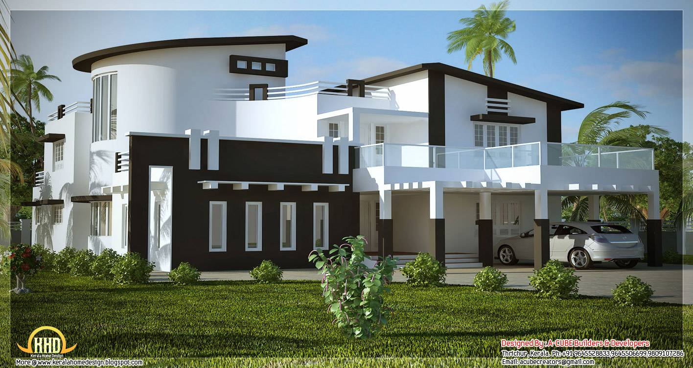 New House Designs In Kerala 100+ [ kerala home design front elevation ] | home design in india