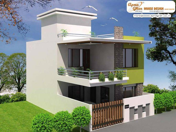 Modern small square house designs House interior