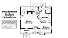 Victorian House Plan Langston First Floor