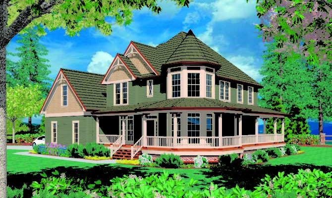 Homes With Wrap Around Porches 21 Photo Gallery House