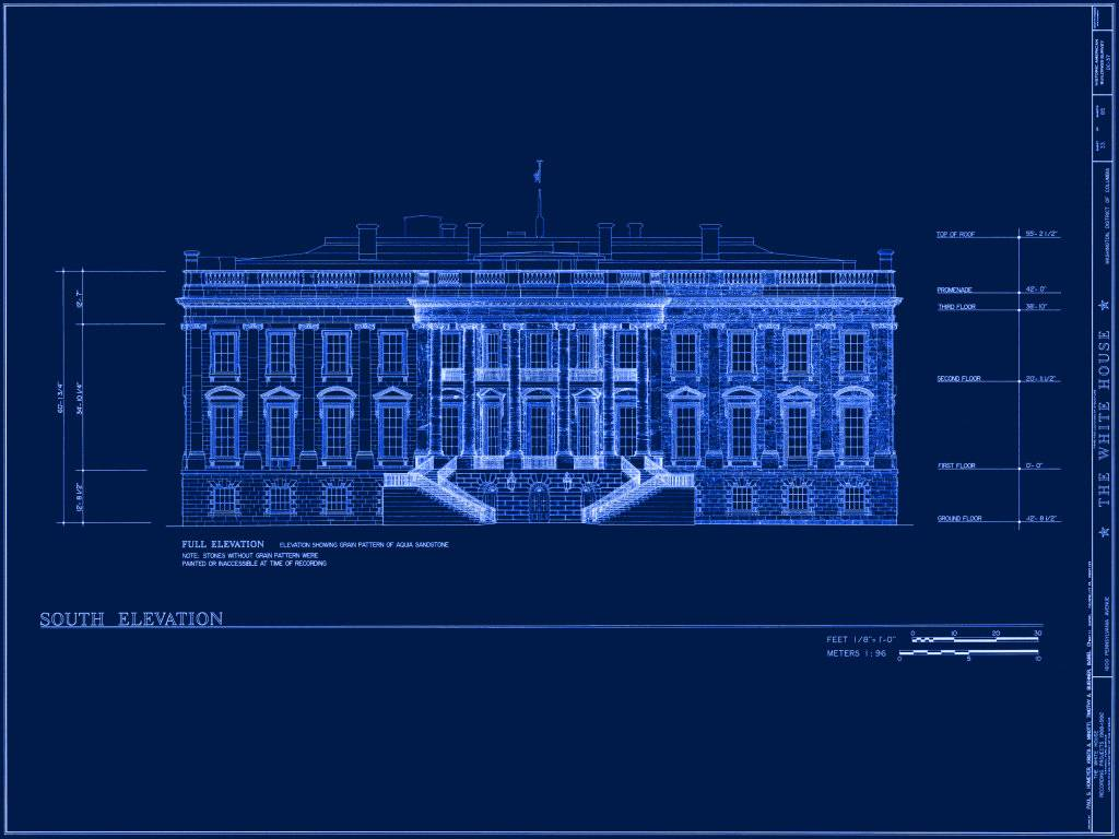 white house blue print_165717 blueprint plans for houses modern house,Blueprint House Plans