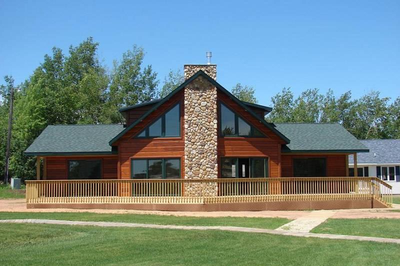 wisconsin chalet loft style home oshkosh fond lac tustin house plans