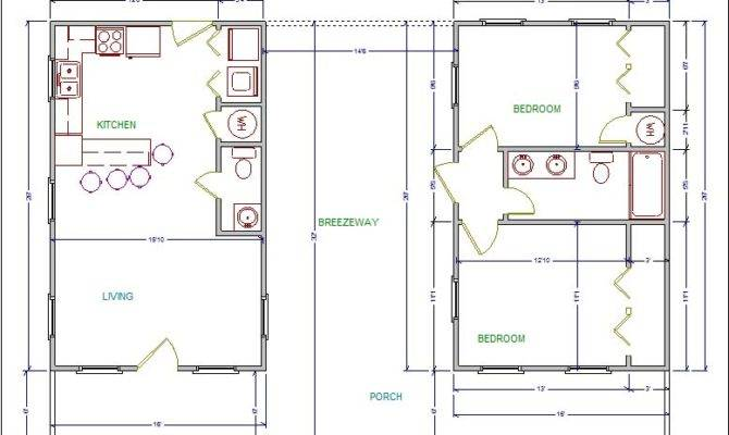 Modern Day Dogtrot House Plans