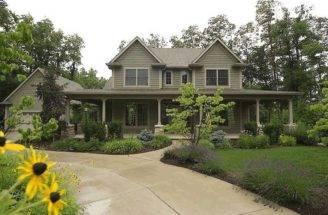 Wrap Around Porch House Style Dream Home Pinterest