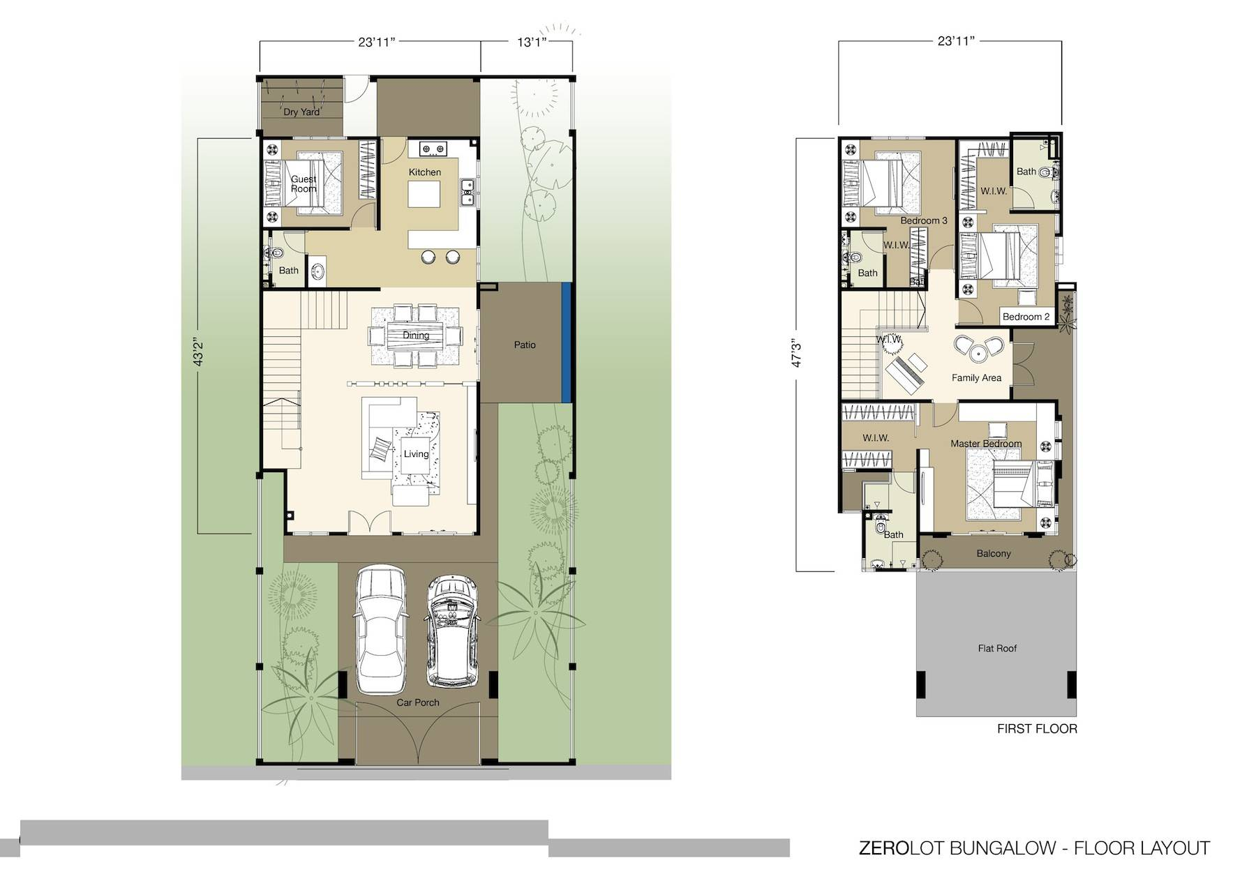 Zero Lot Line Floor Plans 240605 House Plans Home Designs Blog Archive Zero Lot Line House Plans