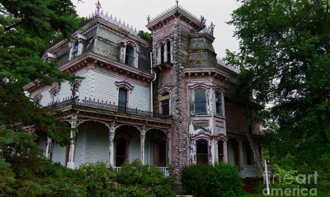 Abandoned Victorian Home Photograph Robert Wirth