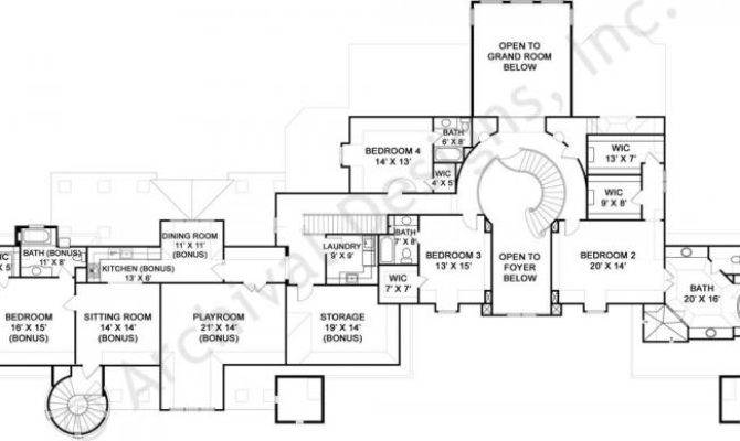 Abby Glen Castle House Plans Home Archival Designs