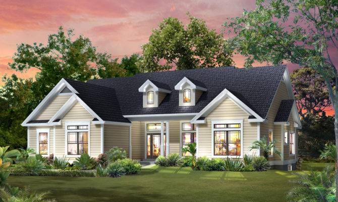 Abigail Traditional Ranch Home Plan House