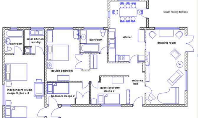 Above Detailed Plan House