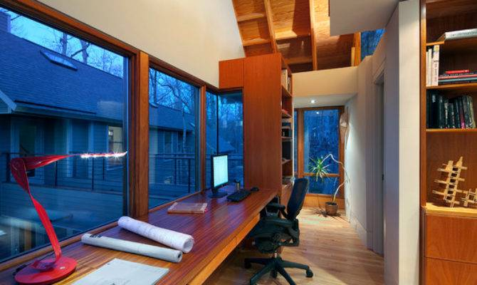 Above Garage Home Office Design Ideas Remodel