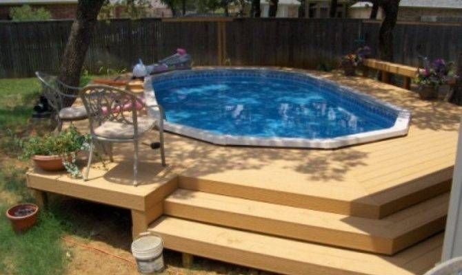 23 Delightful Round Pool Deck Ideas House Plans