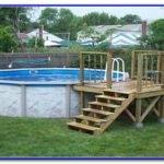 Above Ground Pool Deck Plans Bing House Plans 133165