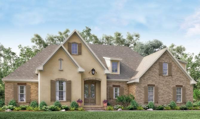 Acadian House Plan Bedrm Home