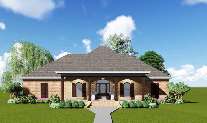Acadian House Plan Safe Room Floor