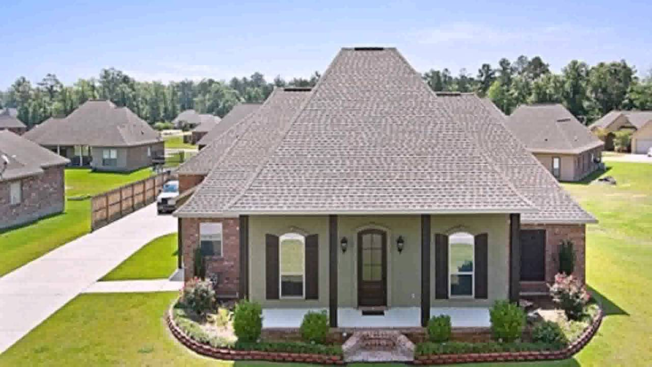 Acadian Style Homes Youtube House Plans 92385