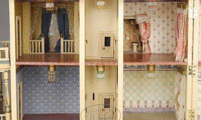 Accessories Doll House Elevator Grand German Has