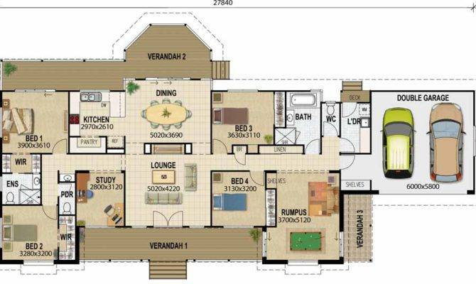 Acreage Designs House Plans Queensland