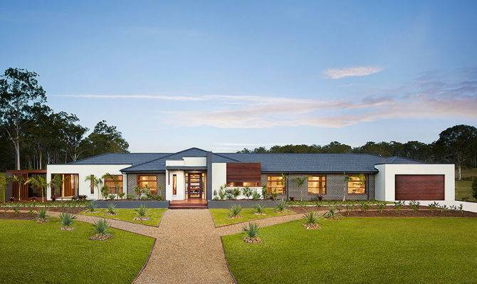 Acreage Home Designs Modern Country Living Metricon