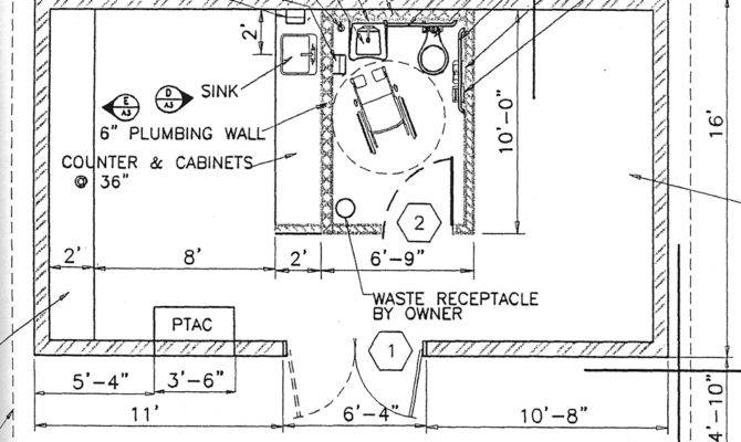 Ada Compliant Bathroom Floor Plan Restroom