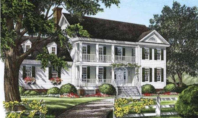 Adam Federal House Plan Square Feet