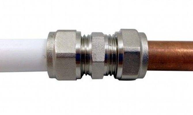 Adapter Reducer Barrier Pipe Compression