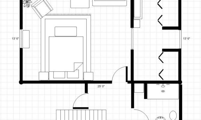Adding Bathroom Dressing Area Room Plan