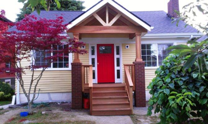 Adding Covered Porch House