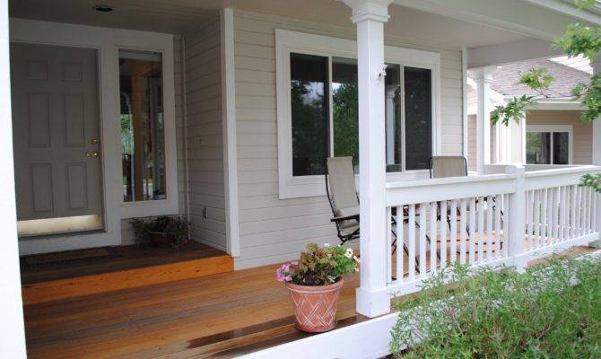 Adding Front Porch House
