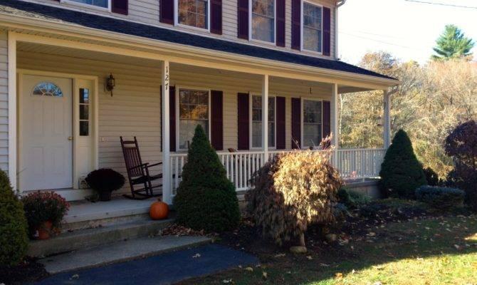 Adding Porch Saltbox House