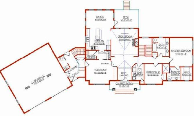 Addition Plans Level Home House Plan