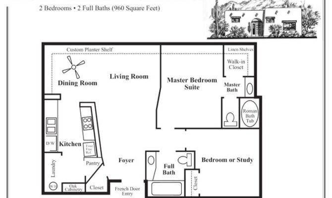 Adobe House Floor Plans Small Homesplas