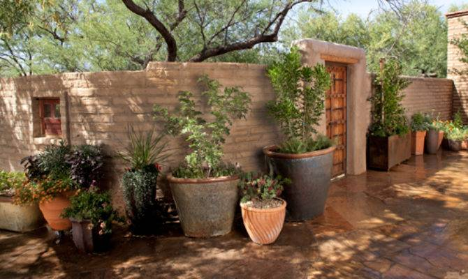 Adobe House Plans Courtyard Best Home