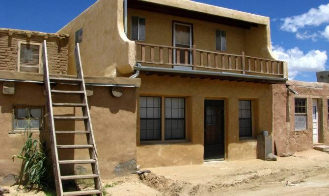 Adobe House Sky City Acoma Pueblo New Mexico