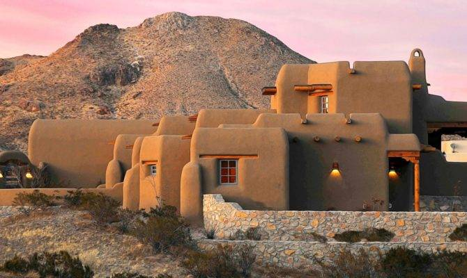 Adobe New Mexican Home Beautiful Mexico