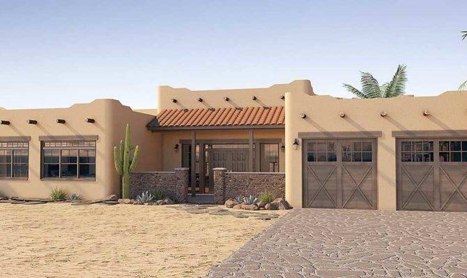 Adobe Style House Plan Icf Walls
