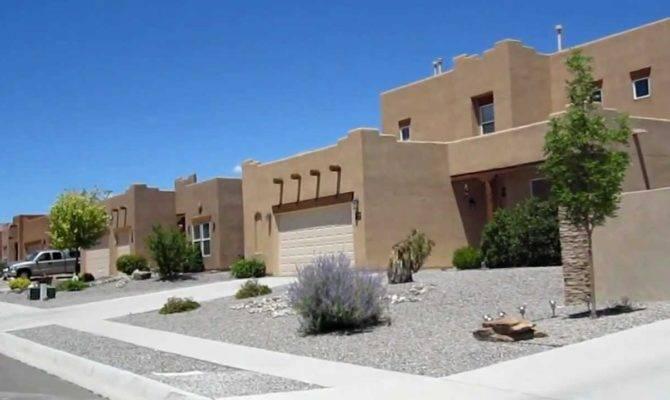 Adobe Style Houses Rio Rancho New Mexico Youtube