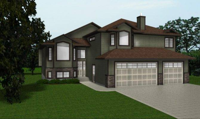 Adorable Storey Duplex Plans Basement Garages Ideas