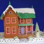 Adorable Victorian Gingerbread House Plans Style