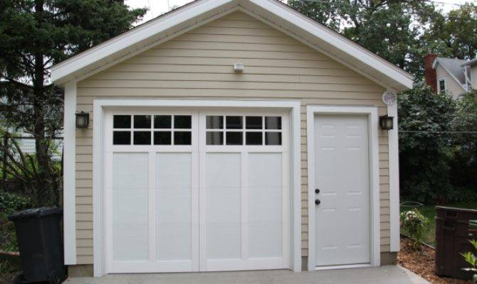 Affordable Detached Garage Builder Single Car Garages