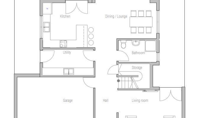 Affordable Home Plans Modern Plan