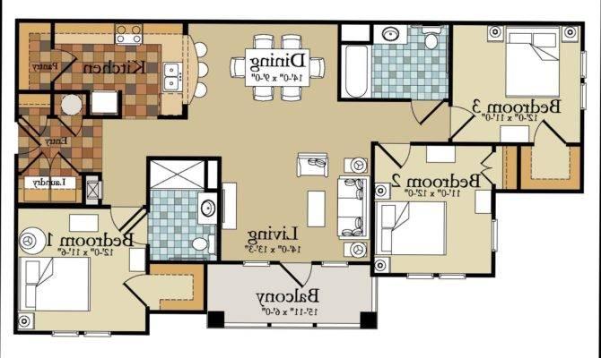 Affordable House Plans Bedroom Modern