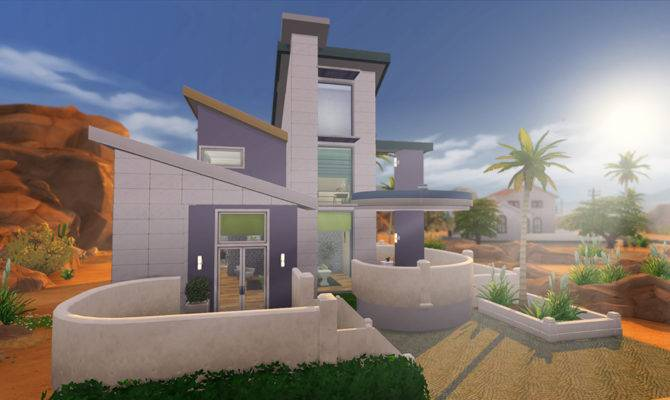 Affordable Modern Home Sims Houses