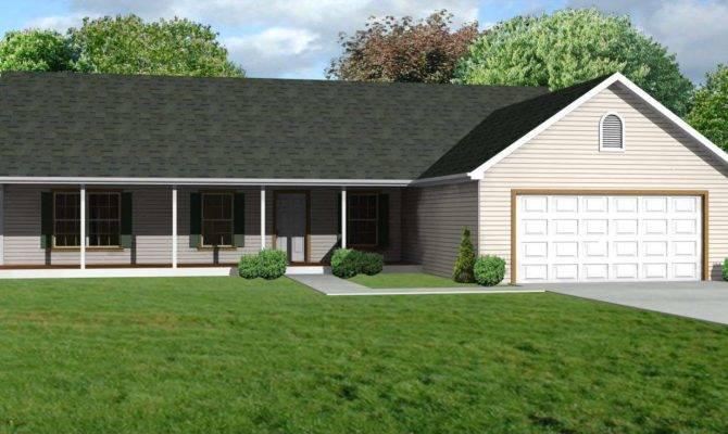 Affordable Small Ranch House Plans Cape Atlantic Decor