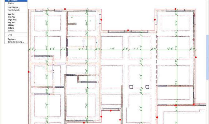 After Creating Floor System Framing Schedule Can Made Listing