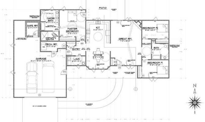 Aging Place House Plans Structural