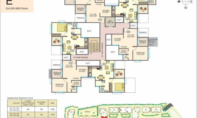 Aishwaryam Courtyard Floor Plan