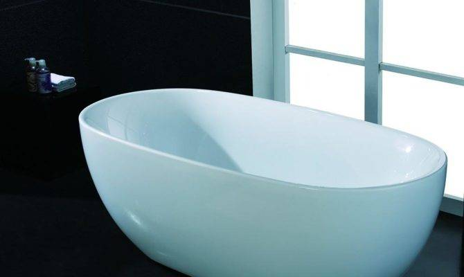 Akdy Freestanding Soaking Bathtub