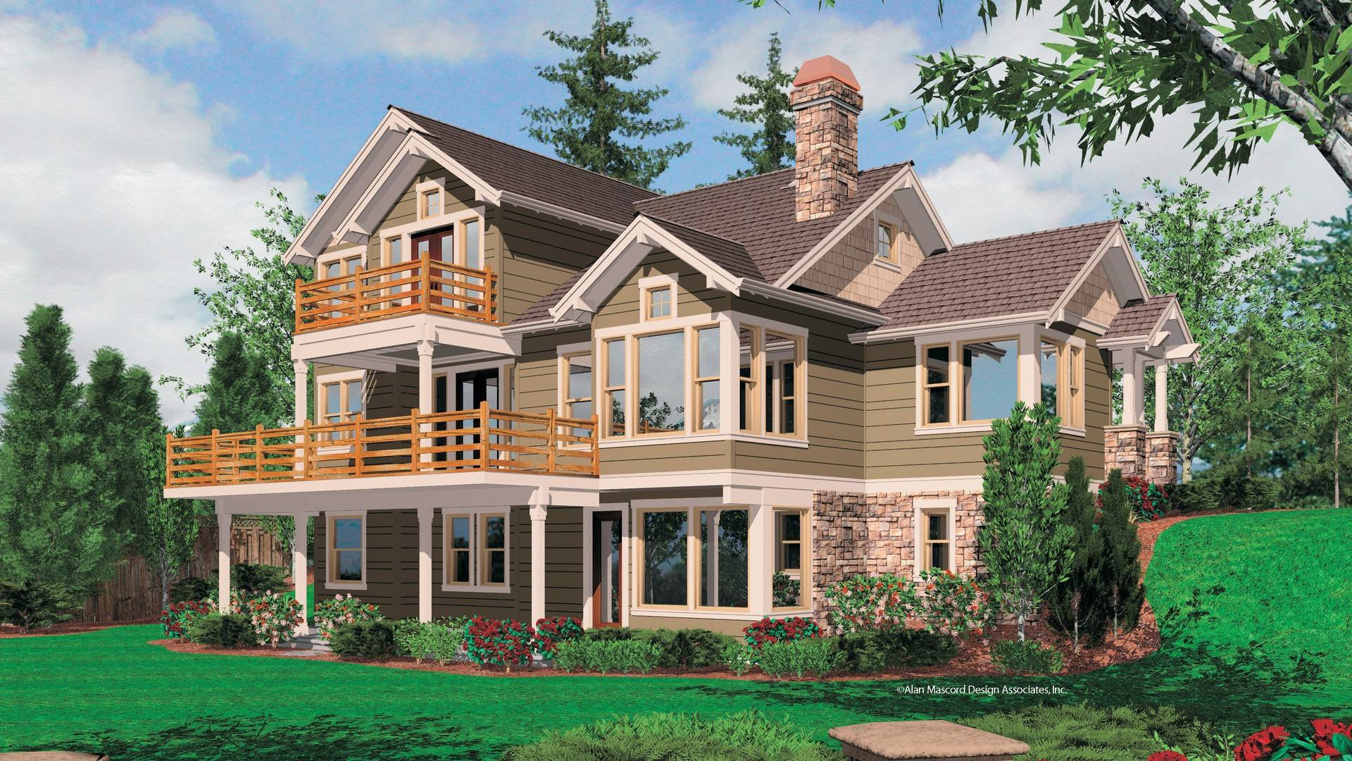alan mascord craftsman house plans house plans 135389